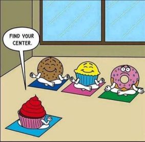 find your centre