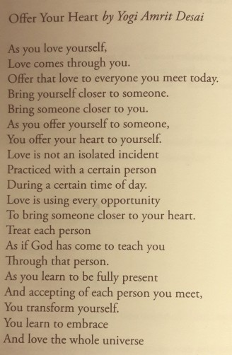 offer your heart